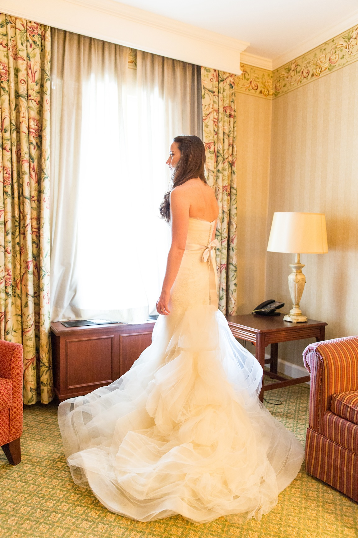 Kristin Lights Up St. Louis In Vera Wang | The Bridal Garden